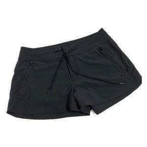 Athleta Black Hudson Mid Rise Boardshort 8